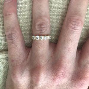 Custom 18k .92 carat diamond ring